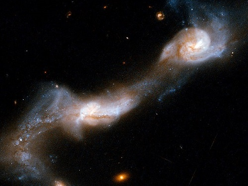 Hubble Interacting Galaxy UGC 8335